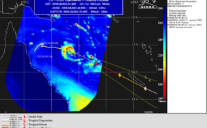 SOUTH PACIFIC: 23P(NIRAN), rapid intensification up to US/Category 4 within 12hours, rapidly approaching NCaledonia area, 05/03utc update