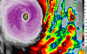 SOUTH PACIFIC: Super Cyclone 23P(NIRAN) has reached US/Category 5, bearing down on Noumea/New Caledonia