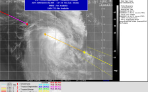 SOUTH PACIFIC: 23P(NIRAN), US/CAT 3, is tracking rapidly South of New Caledonia, rapidly weakening, 06/03utc update