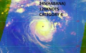 SOUTH INDIAN: 24S(HABANA) US/CAT 4 has not weakened so far, 06/03utc update