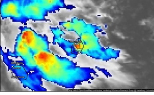 ILES SOEURS: averses orageuses, quelle quantité de pluie dans votre région? cartes, animation sat et commentaires,  le 15/03/21 8h