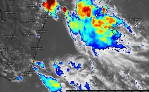 ILES SOEURS: Vigilance fortes pluies et orages en cours à la RÉUNION, mise à jour le 27/18h30