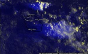 ILES SOEURS: temps dégradé sur l'Est Réunionnais, toujours chaud à MAURICE, mise à jour du 03/04 08h