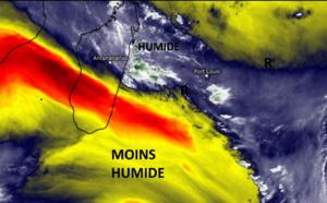 ILES SOEURS: les bonnes averses de Mardi après-midi à MAURICE, prévisions pour Mercredi et Jeudi à la RÉUNION et à MAURICE