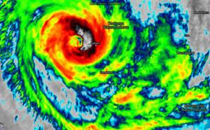 LIVE UPDATE: TC 26S(SEROJA), 70knots/US CAT1 has made landfall, 170km/h gust recorded East of Kalbarri( ABC live report), 11/12utc