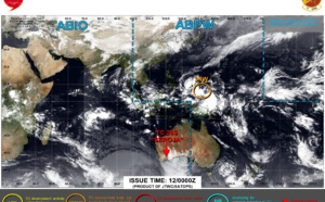Invest 94W up-graded to Medium. 12/00utc updates on the systems monitored by the JTWC