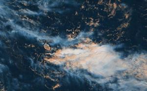 ILES SOEURS: humide et instable puis tendances pour Mardi et Mercredi à MAURICE et à la RÉUNION, mise à jour le 12/04 12h30