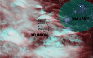 ILES SOEURS: fin de semaine potentiellement humide et instable sur MAURICE et la RÉUNION, mise à jour le 14/11h30