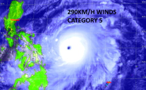 WNP: Super Typhoon 02W(SURIGAE) is a very powerful 155knots/ CAT 5 cyclone, showing an impressive satellite signature, 17/15utc update