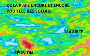 ILES SOEURS: fortes pluies encore et encore à MAURICE et à la RÉUNION, Avril 2021 est nettement plus humide que 2020