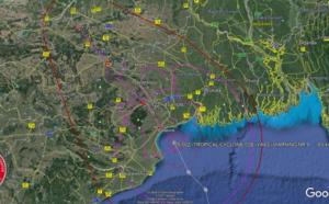 BAY OF BENGAL: TC 02B(YAAS) is close to be making landfall near Balasore/Odisha with 150km/h top gusts, 26/03utc update