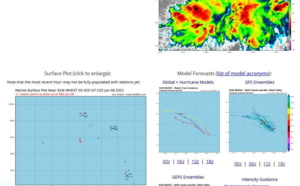 Western North Pacific: Invest 91W on the map to the Southwest of Kwajalein