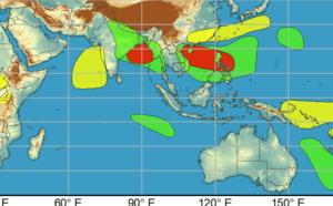 2 week cyclonic development potential: heightened potential for development through mid-June, 09/06utc update
