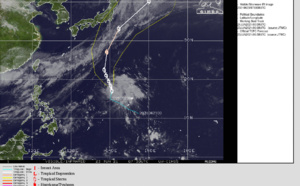 WNP: TS 06W(CHAMPI) is getting better organized, forecast to peak at Typhoon intensity by 72hours, center relocated at 23/06utc