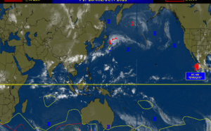 WNP, NIO, SHEM:  no suspect areas at the moment// ENP: Hurricane 05E(ENRIQUE): 80knots/Cat1, TCFA for Invest 96L, 28/06utc update