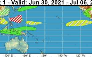 2 week cyclonic development potential// Tropical Cyclone Formation Alert issued for Invest 95W// 05E(ENRIQUE) update. 30/01utc